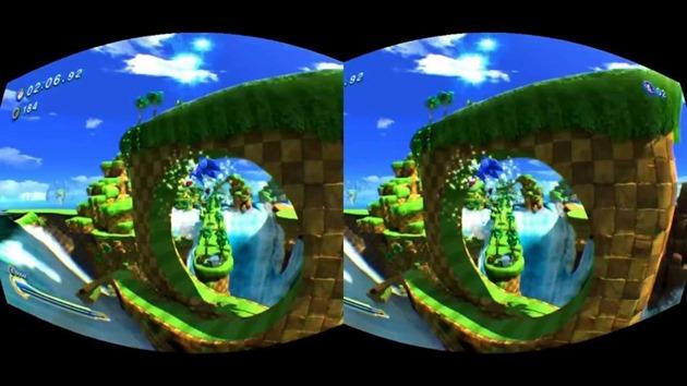 2 sonic vr oculus rift