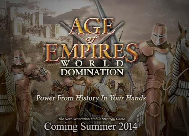 Age of Empires World Domination ios wp8 android