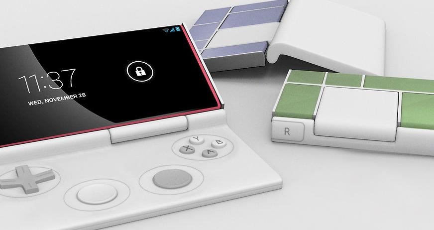 Flippypad, un concept de consolă portabilă modulară