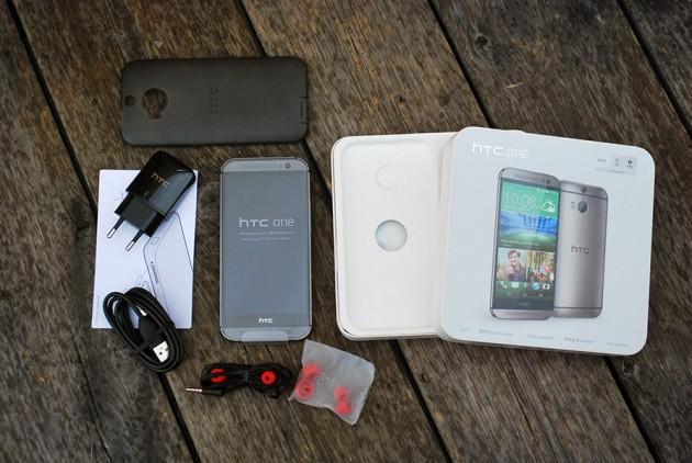 Continut ambalaj HTC One M8