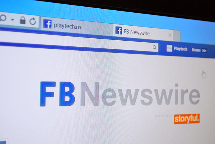 Prin noul Newswire, Facebook vrea să devină sursa voastră de ştiri