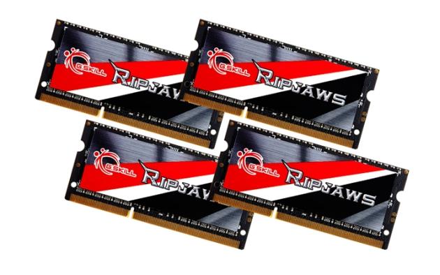 G.SKILL Ripjaws, un kit de 32 GB DDR3L pentru ultrabook-uri