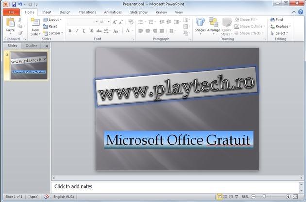 Intro Microsoft Office gratuit