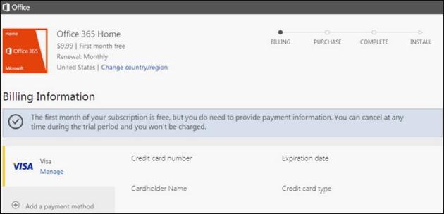 Microsoft Office 365 Home Premium Gratuit