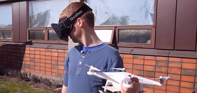 Oculus Rift Drona