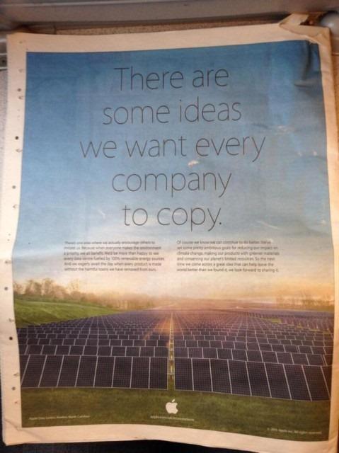 Cea mai nouă reclamă Apple ironizează practicile Samsung de copiere