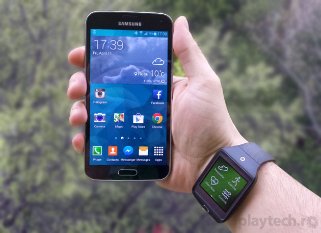 Review Samsung-Galaxy-S5 & Review Gear 2 Neo