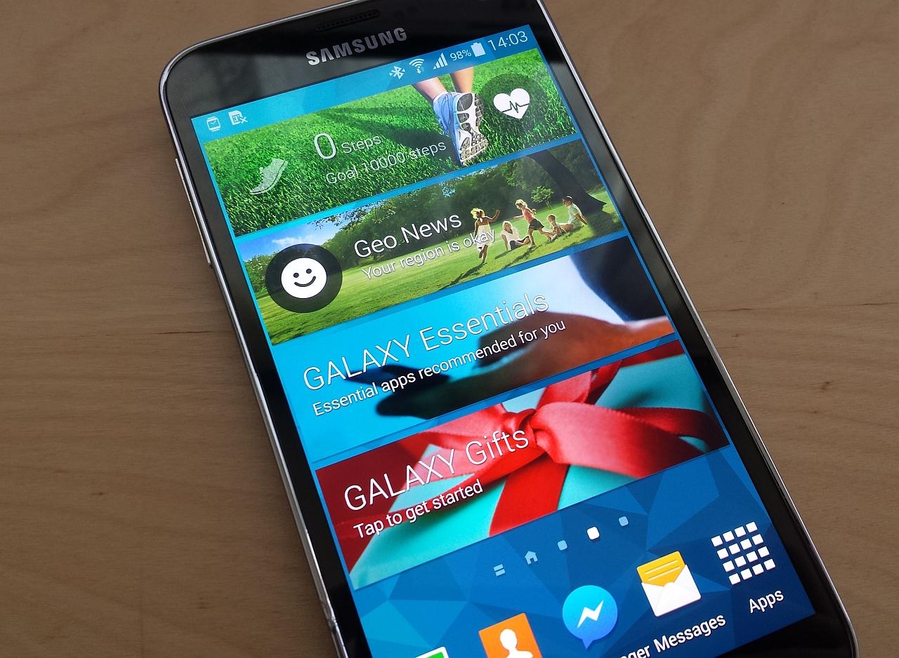 Samsung Galaxy S5 Active, un S5 mai rezistent