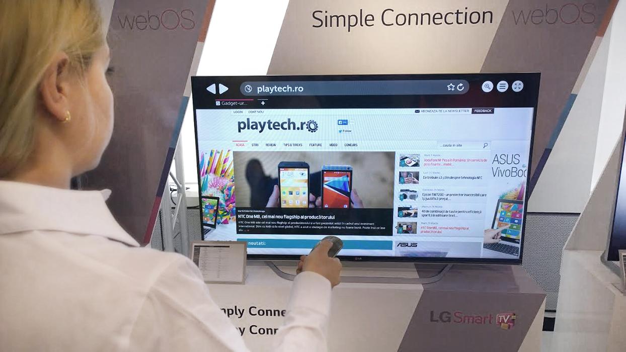 LG WebOS, aplicații și multimedia