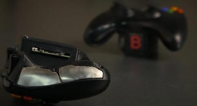 Xbox 360 video game controller stanford monitorizare