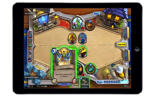 blizzard hearthstone-ipad