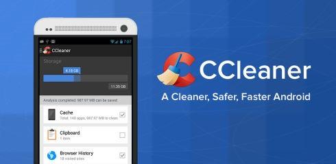CCleaner vă face acum curăţenie şi pe Android, nu doar pe Windows