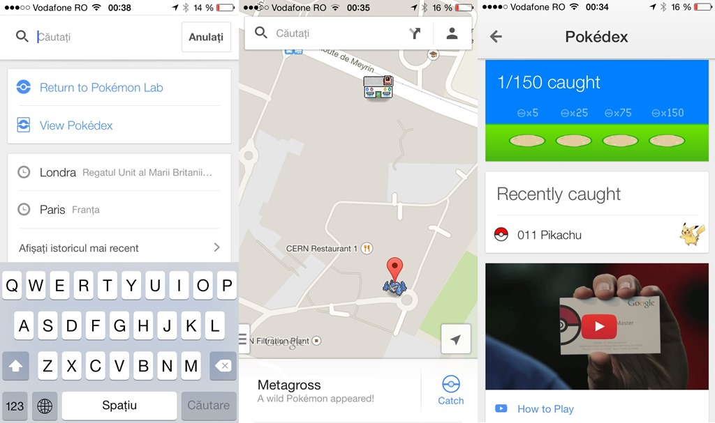 Google Maps de 1 aprilie – Găsiţi-l pe Pokemon