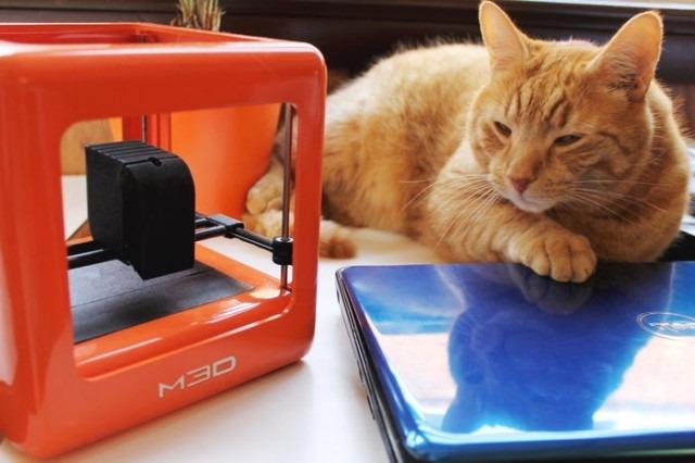 Micro 3D –  o imprimantă 3D care a fost finanţată în 11 minute