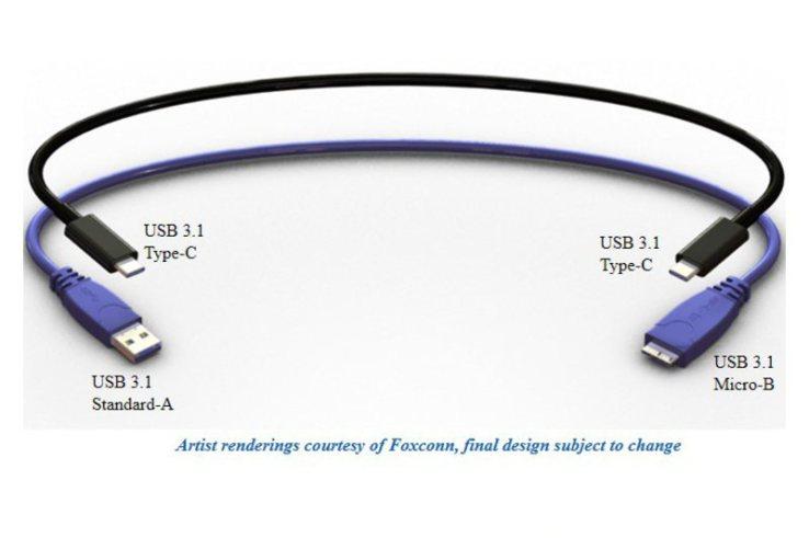 Cablul USB reversibil va fi disponibil în această vară