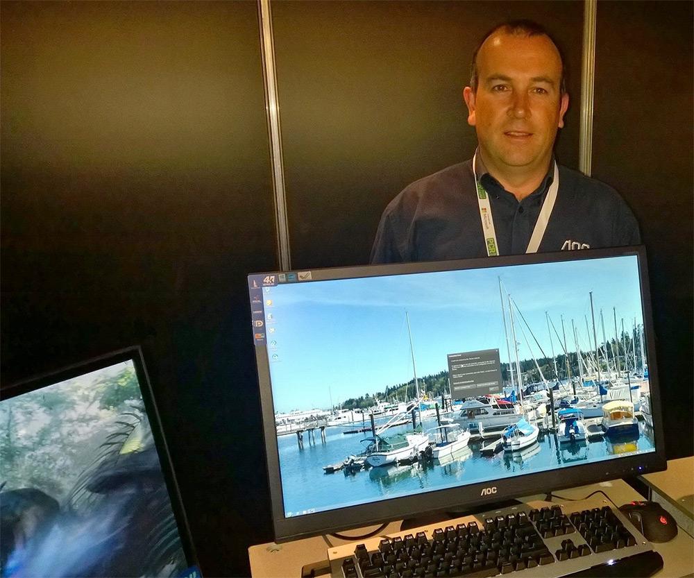 AOC dezvăluie un monitor 4K accesibil