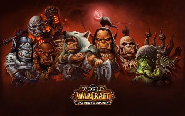 Blizzard World of Warcraft Warlords of Draenor
