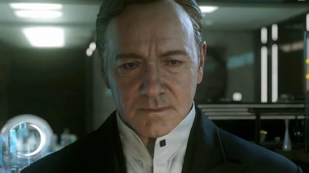 Call of duty advanced warfare trailer kevin spacey