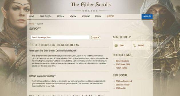 Elder Scrolls Online a fost amânat încă 6 luni pentru console