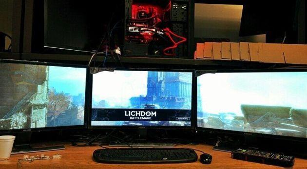 Lichdom Battlemage 4K AMD Radeon R9 295X2