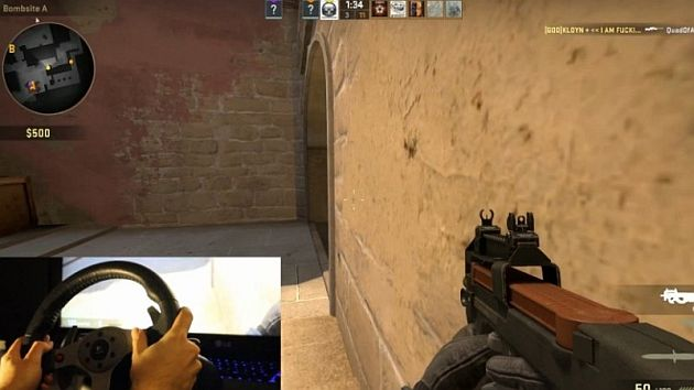 Logitech G25 Counter Strike