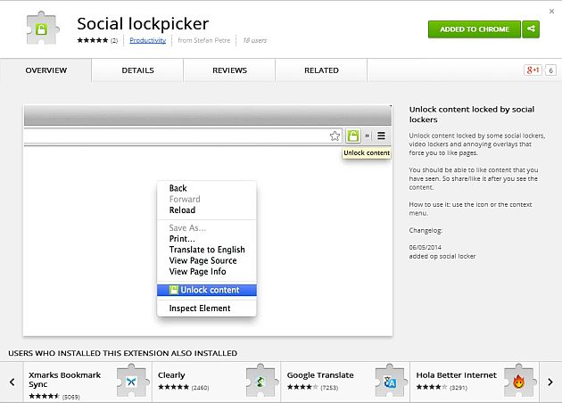 Social Lockpicker
