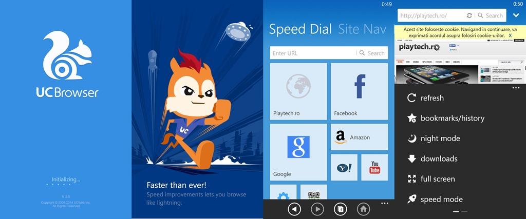 Noul UC Browser este singurul de care ai nevoie pe Windows Phone