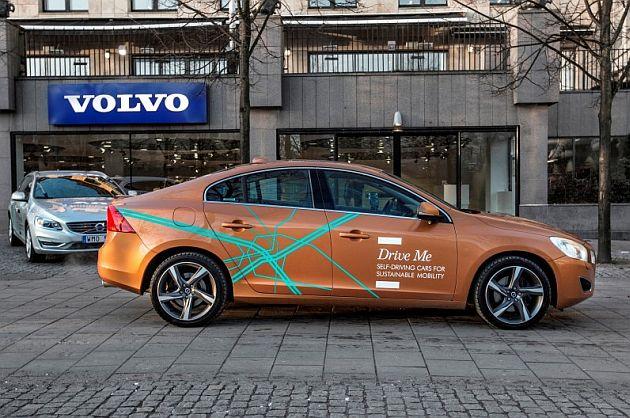 Volvo începe testarea pe drumurile publice cu mașinile autonome