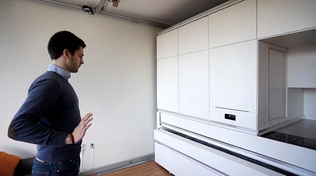 MIT CityHome este o mobilă inteligentă ce răspunde la gesturi [VIDEO]