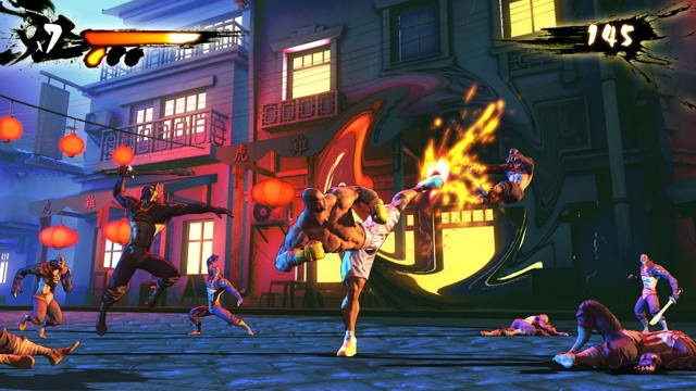 Shaq Fu este un joc ce vă permite să vă luptaţi cu Shaquille O'Neal