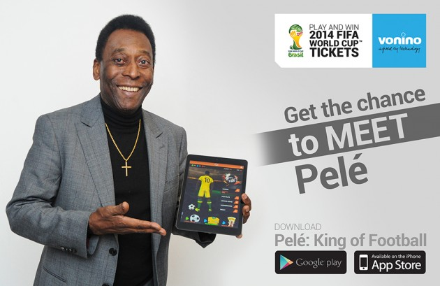 BEAT PELE - PELE and COSI PRODUCTIONS Bring Fans Closer Than Ever Before to the Action With the Launch of Pele: King of Football