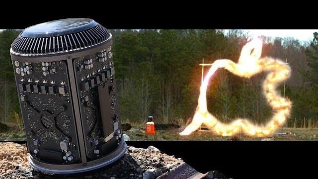Cât de rezistent e un Mac Pro la explozibil? [VIDEO]