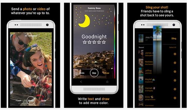 Facebook Slingshot snapchat competitor