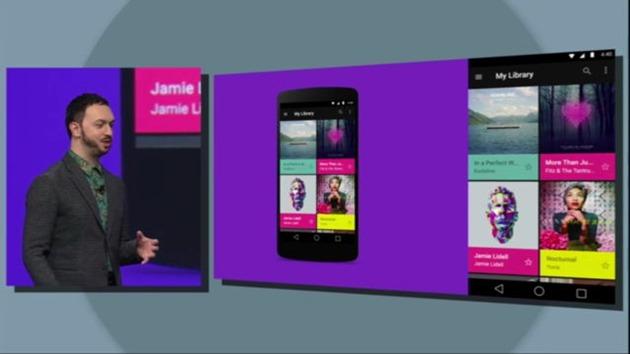 Google android-l-design-nexus update