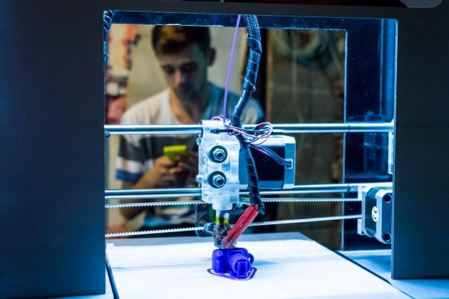 Imprimanta 3D romaneasca