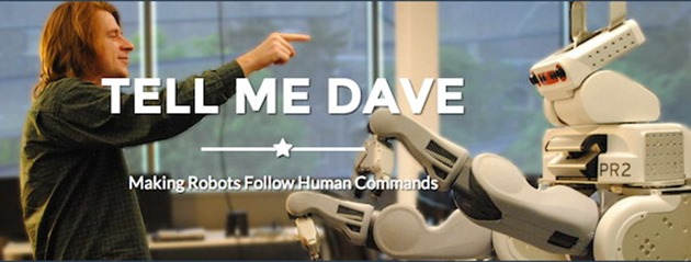 Tell-Me-Dave-Robot