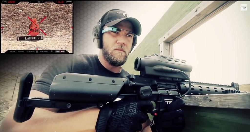 Cum poți să tragi cu arma după colţ folosind Google Glass [VIDEO]