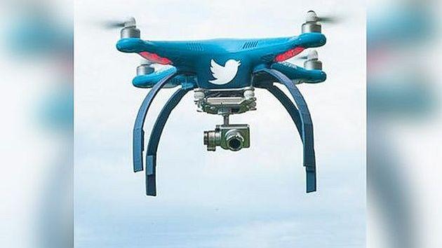 Twitter Dronie
