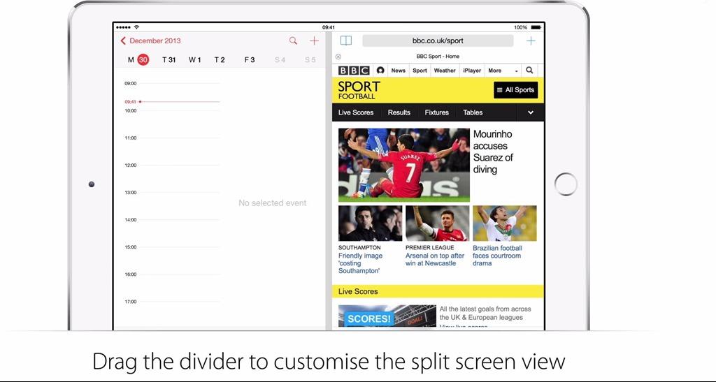 iOS 8 vine cu tot ce trebuie pentru multitasking split-screen [VIDEO]