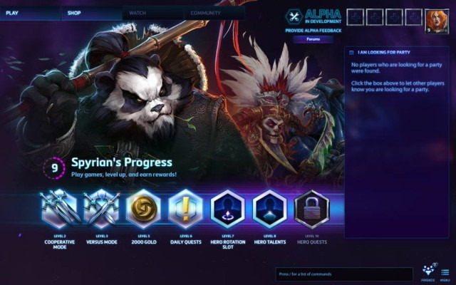 Heroes Of The Storm alpha, de la Blizzard, este disponibil şi în Europa