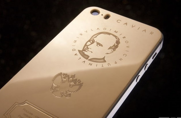 caviar iphone 5s supremo putin