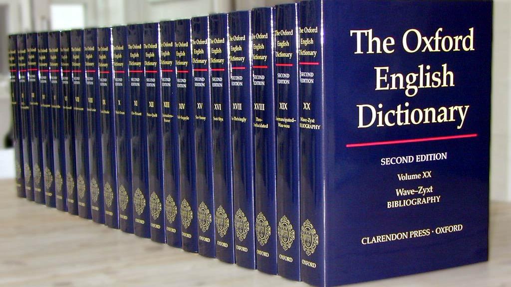 Dicţionarul Oxford primeşte noi cuvinte un pic ciudate