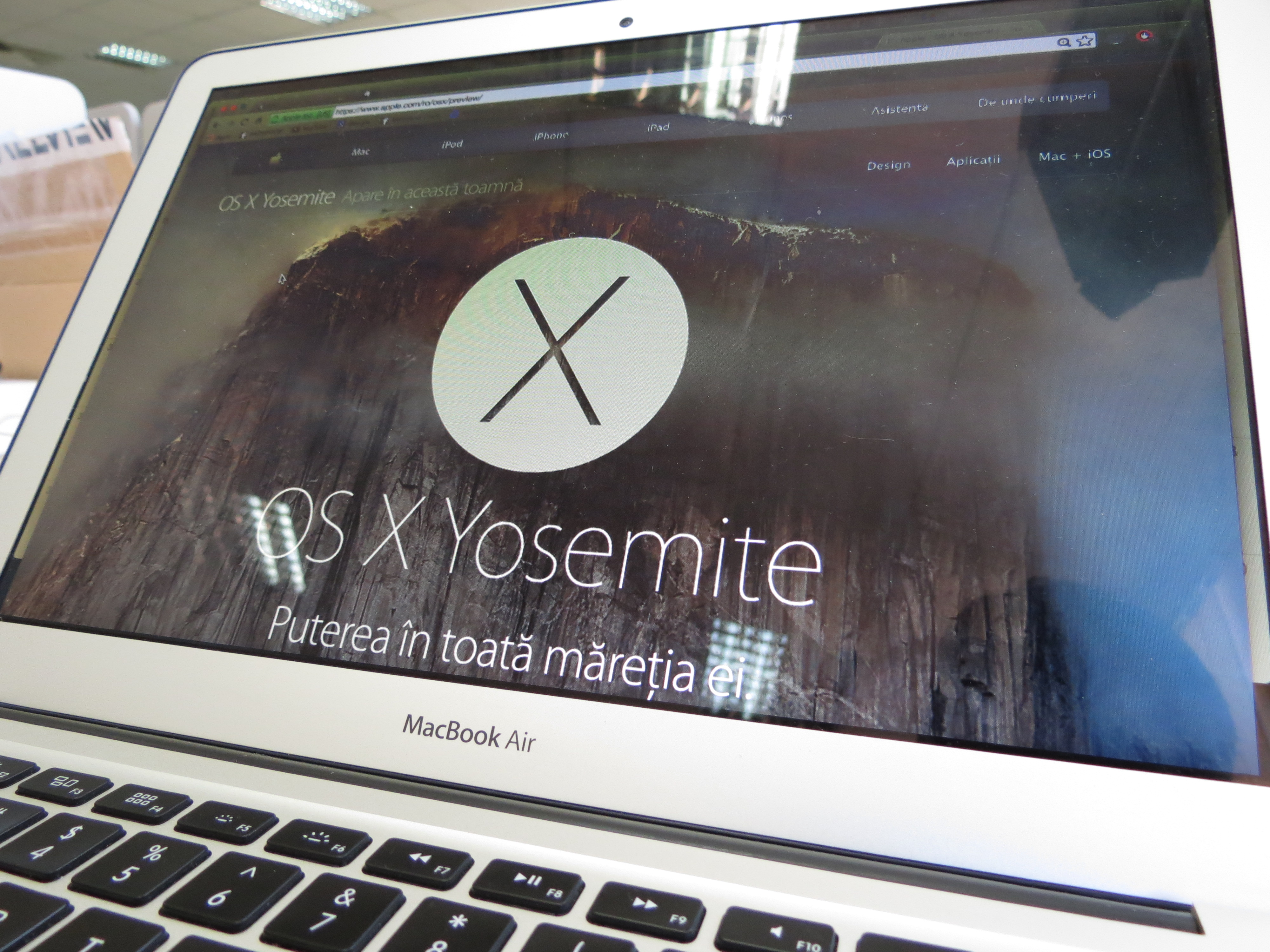 Mac OS X Yosemite – primele impresii [PREVIEW]