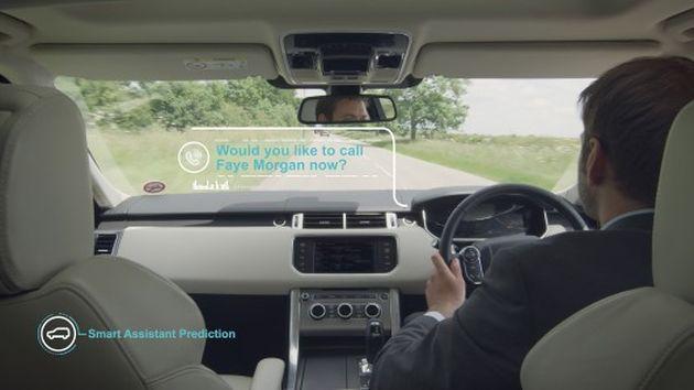 Jaguar lucrează la conceptul de Smart Car