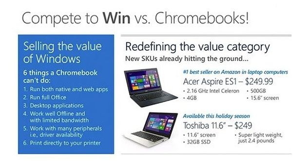 Microsoft Chromebook