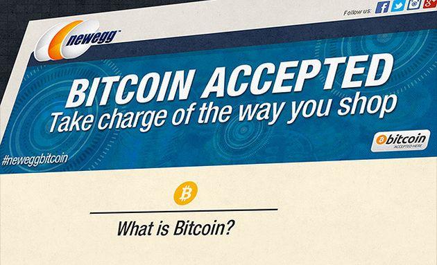 Newegg acceptă acum și Bitcoin pentru plată