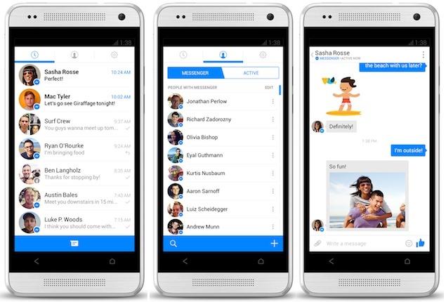 Facebook vă obligă să comunicaţi doar prin aplicaţia Messenger
