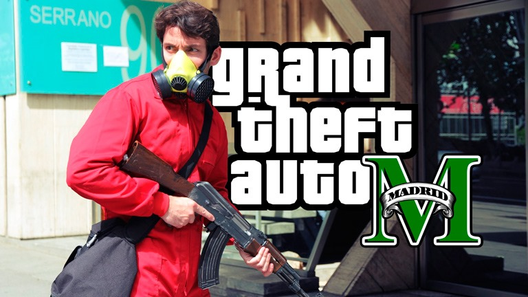 """GTA: Madrid"", un trailer real impresionant pentru GTA V [VIDEO]"