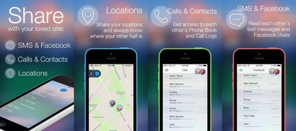mCouple aplicaţia de spionaj în cuplu pentru iOS