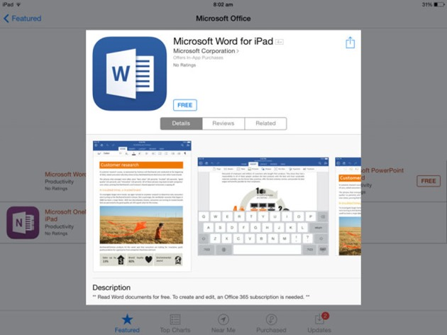 microsoft office-for-ipad-word-android